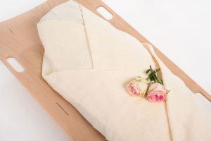 Een zacht en liefdevol alternatief voor een kist