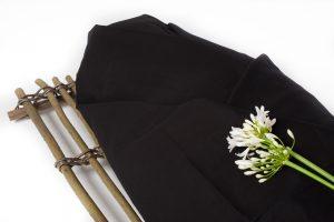 Gekleurde lijkwade - Zwart - Takkenbaar - Wikkelgoed